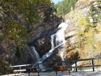 Cameron Falls Waterton Townsite