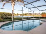 You'll love the private pool at this Davenport vacation rental home.