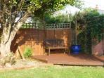 A quiet corner of the garden
