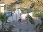 Tennis court for the exclusive use of our guests.(free)