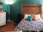 Bedroom 2 of 2. Queen bed.. tall dresser. Air conditioning and window for fresh ocean breezes.
