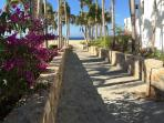 Walkway to Private Pedregal Beach