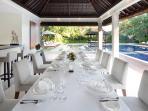 Villa Asante - Dining