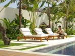 Villa Asante - Sun loungers