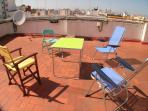 Access to 9th floor communal rooftop terrace.