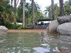 RESORT: Pool number 3, a tranquil oasis on the far side of the resort.