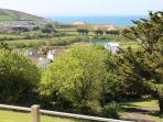 Croyde Holiday Cottages Luckenborough Patio View