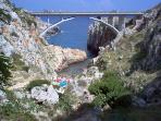 ponte Ciolo a circa un 1,5 km dalla casa