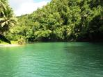 The Loboc River is 30 mins away, great lunchtime cruise with a band on a catamaran fpr only US$10.