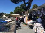 Lenno's Tuesday market