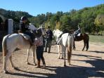 Paardrijden in de Sierra de las Nieves