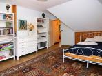 Blaues Zimmer, Bett 140x200