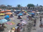 Custonaci a mare - baia Cornino - spiaggia del porticciolo (a 2 Km)