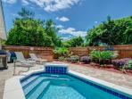 Private Pool with Solar Pool Heater