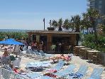 Tiki bar, north tower pool.