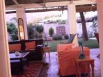 Enjoy an evening on the veranda.