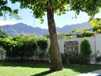 Perfect summers day in Franschhoek in the back garden.