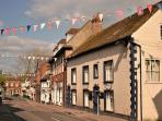 Fordingbridge High Street, pretty and sells everything you need