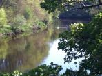 Peace and quiet on the River Ayr