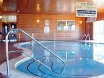 Great facilities here - indoor swimming pool and sauna,   childrens play area,  tennis +table tennis