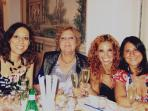 Marina, Maria Letizia, Chantal and Serena, the owners!
