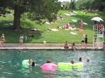 Take a dip in the refreshing cool waters of Barton Springs, the soul of Austin