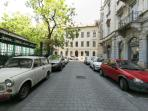 cul de sac Henszlmann Imre Street