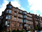 External view of Glasgow Tenement