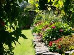 Abergwynant Gardens in Glorious Colour