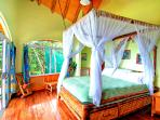 Master King size bed with fantastic beach view. Private veranda