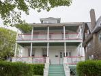 Sea Foam Manor- Charming Georgian-period mansion just 1 block from the beach!  Bring the whole gang!