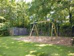 Pembrokeshire holiday cottage with garden and children's swings