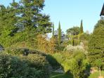 The garden behind Capitorio