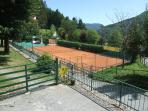 Tennis club Cutigliano a 100m da casa!