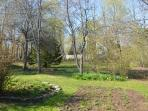 Backyard and gardens