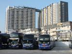 Beside Sri Maju Bus Terminal