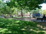 Gold Star Park - One Half Block Away