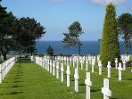 Cimetière americain de colleville sur Mer American war cimetery of colleville sur mer