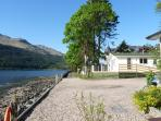New for 2016 ! Luxury Holiday Chalet with Panoramic views  of Loch Long and the Arrochar Alpes.
