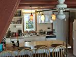 We renovated the kitchen and love it.  We have everything you need to cook or not to cook!