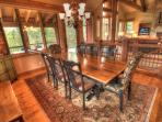 dining room table view 2 -
