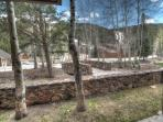 Private Patio View - Great views towards the ski slopes from your private patio!