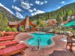 Minnie's Cabin Pool - Take a dip in the year round outdoor heated pool at Minnie's Cabin!