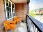 Patio with BBQ -