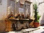 Fountain in Pizzo town
