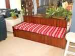 Bench that turns into queen size bed