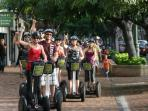 Segway tours highlighting Waikiki, Diamond Head, Honolulu, etc.