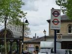 4 mins walk to tube and overground station