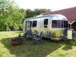 Glamping in the Airstream Travel Trailer