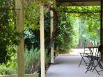 Shady verandah